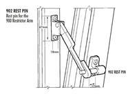 Pivot Window And Sash Restrictors