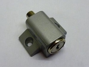 SL0600 8008 Push Lock Silver