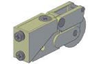 RO0250-CA865 Sliding Patio Door Roller
