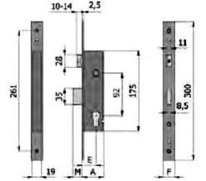 LD0020 1620 Latch Door Deadlock